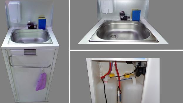 Mobiles Waschbecken für Foodtrucker in Berlin und Brandenburg